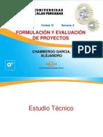 05 Formulacion y Evaluacion de Proyectos Estudio Tecnico