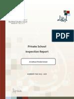 ADEC - Al Adhwa Private School 2015 2016