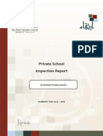 ADEC - Al Shohub Private School 2015 2016