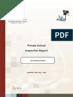ADEC - Yas Academy Private School 2015 2016