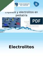 Líquidos y Electrolitos en Pediatría