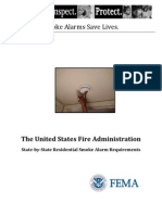 USFA - US Residential Smoke Alarm Requirements