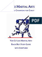 Black Belt Study Guide With Scriptures