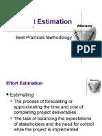 Effort Estimations