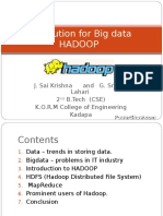 The Solution for Bigdata 3980135