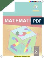 Buku Matematika Kelas X Semester 1