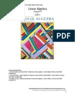 Week 6 Linear Algebra Aug 17