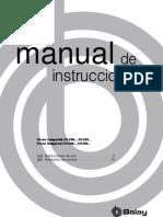 manual instucciones horno Horno integrable 3H.506.., 3H.505.. Forno integrável 3H.506.., 3H.505..
