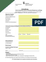 Anmeldung Schweizer Burgerinnen Und Burger FORM ABG