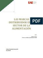 Las Marcas de Distribuidor en Alimentacion - Guillermo Roger Mayo 2010