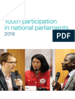 Youth participation in national parliaments 2016