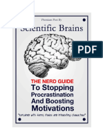 Stopping Procrastinations and Boosting Motivations