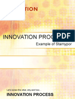 CBI 2013 Class 7 Innovation Processes - Example of Stamypor