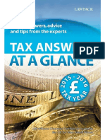 Tax Answers at a Glance 2015_16 - H M Williams Chartered Accounta
