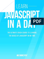 Learn Javascript in a DAY!