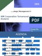 IBM Corporate Turnaround