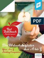 Bad Feilnbach von A bis Z (2016/2017)