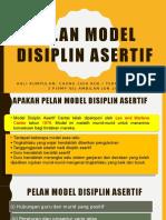 EDUP 3043 Pelan Model Disiplin Asertif