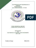 Pulse & Digital Circuits Lab Manual 3