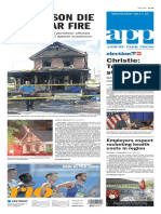 Asbury Park Press front page Wednesday, Aug. 17 2016