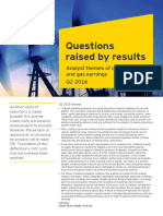 EY Oil and Gas Quarterly Trends 2016 Q2