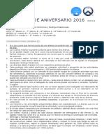 Programa Aniversario 2016
