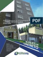 Bloques de Concreto-Supermix