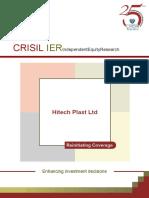 Hitech Plast Ltd IER QuarterlyUpdate