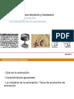 Uf 1.1-1 El Producto de Animacion