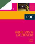 2009 Fnpi Libro Cronica Que Viva La Fista Musica y Fiesta en Colombia