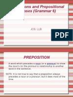 Preposition Grammar 6