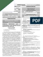 1416947-1PRESIDENCIA DEL CONSEJO DE MINISTROS DECRETO SUPREMO N° 063-2016-PCM Fecha