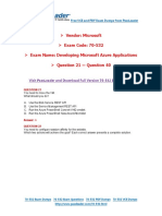 70-532 Exam Dumps with PDF and VCE Download (21-40).pdf