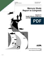 Mercury Study Report to Congress V.5