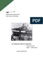 Inmigrantes Italianos en Argentina
