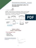 Dimenzioniranje Strojnih Naprav in Sestavnih Elementov