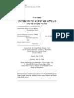 Roche v. Lincoln Property Co, 4th Cir. (2004)