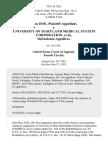 John Doe v. University of Maryland Medical System Corporation, 50 F.3d 1261, 4th Cir. (1995)