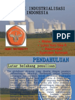 STRATEGI INDUSTRIALISASI INDONESIA