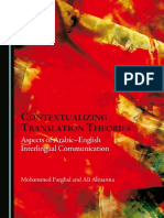 1Contextualizing Translation Theories