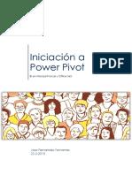 MS Inteligencia de Negocio Power Pivot