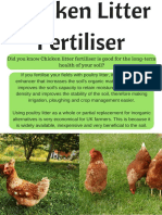 Chicken Litter Fertiliser