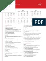 Calendário Acadêmico 2016 3