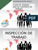 Inspeccion de Trabajo, Suspecion