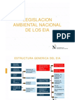 Legislacion Nacional de Los EIA