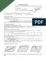 Ecuaciones Del Plano