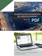 PDF Planificación Estrategica Del Negocio Minero