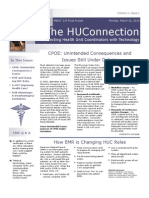 The HUC Connection Newsletter