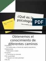 Qué Es La Psicología