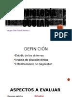 Semiología de aparato visual